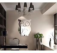 Животные Наклейки 3D наклейки Декоративные наклейки на стены,Акрил материал Украшение дома Наклейка на стену