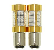 Sencart 2pcs 1157 Flashing Bulb Led Car Tail Turn Reverse Light Bulb Lamps(White/Red/Blue/Warm White) (DC/AC9-16V)