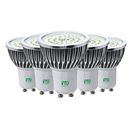7W GU10 Spot LED 48 diodes électroluminescentes SMD 2835 Décorative Blanc Chaud Blanc Froid Blanc Naturel 600-700lm