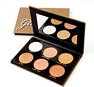 cheap -2 Concealer/Contour Highlighters/Bronzers Shimmer Pressed powder Face China