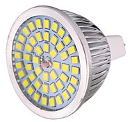 ywxlight® 7w mr16 spotlight conduzido mr16 48 smd 2835 600-700 lm branco quente branco frio branco natural decorativo ac / dc 12
