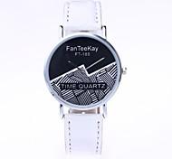 Mulheres Relógio Elegante Relógio de Moda Relógio de Pulso Único Criativo relógio Chinês Quartzo PU Tecido Banda Desenhos Animados