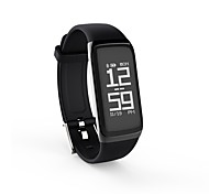 cheap -Smart Bracelet BY21S for iOS / Android Touch Screen / Heart Rate Monitor / Calories Burned Pedometer / Remote Control / Fitness Tracker