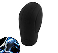 cheap -Black Soft Silicone Nonslip Car Shift Knob Gear Stick Cover Protector