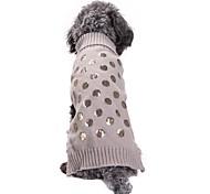 Недорогие -Кошка Собака Плащи Свитера Одежда для собак Для вечеринки На каждый день Косплей Сохраняет тепло Свадьба Хэллоуин Рождество Новый год