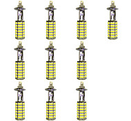 4W H1 120SMD2835 Near Light/Fog Lamp for Car White DC12V 10Pcs