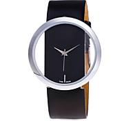 Women's Skeleton Watch Fashion Watch Wrist watch Unique Creative Watch Casual Watch Dress Watch Chinese Quartz PU Band Candy color Casual