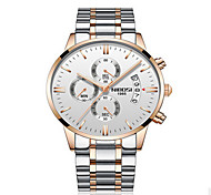 Men Watches business Quartz  waterproof watches men's stainless steel band auto date wristwatches relojes