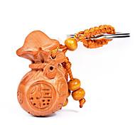 сумка / телефон / брелок шарм мультфильм игрушка китайский стиль деревянный diy для iphone 8 7 samsung galaxy s8 s7