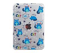 Case for iPad (2017) Pro10.5 Cover Transparent Pattern Back Cover Case Tile Cat Soft TPU for iPad Pro12.9 Pro9.7 Air Air2 iPad234 mini123 mini4