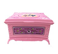 Music Box Light Up Toys Toys Square ABS Pieces Girls' Birthday Gift
