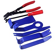 cheap -ZIQIAO 7 PCS Plastic Car Auto Door Interior Trim Removal Panel Clip Pry Open Bar Tool Kit High Quality Hand Tools Set