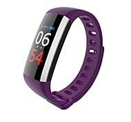 braccialetto astuto del bluetooth della donna degli uomini di y19 di g19 / schermo astuto di smartwatch / di colore dell'ossigeno per android di ios