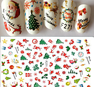 cheap -1 Stickers & Tapes Nail Decals Nail Art Design