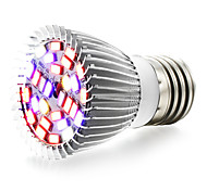 E27 LED Grow Lights 28 SMD 5730 800 lm Warm White Red Blue UV (Blacklight) K AC85-265 V