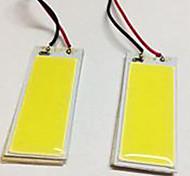 abordables -BA9S T10 Coche Bombillas 5W W COB 490lm lm Bulbos de Luz LED Luces interiores