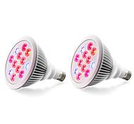 cheap -E27 LED Grow Lights 12 High Power LED 800 lm Red Blue K AC85-265 V
