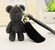 Недорогие -Сумка / телефон / брелок шарм медведь rhinestone стиль кисточка мультфильм игрушка полиэфир корея стиль