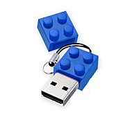 brinquedo tijolos cartoon 1gb usb disk usb 2.0 flash pen drive