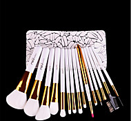 cheap -1set Makeup Brush Set Synthetic Hair Easy Carrying Easy to Carry Wood Men Men and Women Eye Eyelash Face General use Lip Health&Beauty