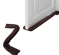 cheap -Twin Door Draft Dodger Guard Stopper Energy Saving Protector Dustproof Doorstop Home