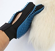 Gatto Cane Toelettatura Assistenza sanitaria Pulizia Kit per toletta Pennelli Set da bagno Ompermeabile Portatile Ripiegabile Blu