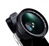 Недорогие -Kyotsu телефон объектив широкоугольный объектив макро объектив алюминиевый 15x 52 мм сотовый телефон объектив комплект для samsung