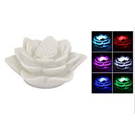 Недорогие -lotus цветок лампа привело цвет изменения ночь праздник праздник украшения