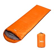 Sleeping Bag Envelope / Rectangular Bag -15 -25 0°C Keep Warm Adjustable Size Foldable Breathable 225X75 Camping / Hiking Double