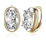 Women's Stud Earrings Drop Earrings Hoop Earrings Crystal Cubic Zirconia Rhinestone AAA Cubic ZirconiaCute Style Fashion Punk Hip-Hop