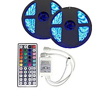 abordables -Sets de Luces 300 LED RGB Control remoto Cortable Regulable Color variable Auto-Adhesivas Conectable DC 12V