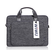 Shoulder Bags Handbags for Macbook Pro 13 15.4 inch MacBook Pro with Retina display Business Solid Color Textile Material