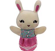 giocattoli farciti Bambole Gioco educativo Marionetta da dito Giocattoli Rabbit Orso Tiger Animali Bambino Pezzi