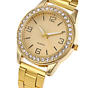 Women's Fashion Watch Wrist watch Casual Watch Quartz Stainless Steel Band Charm Luxury Casual Cool Elegant Silver Gold Rose Gold