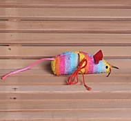 Недорогие -Кошка Собака Игрушка для котов Игрушки для животных Плюшевые игрушки Мышь Ткань Хлопок Для домашних животных