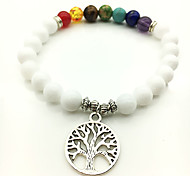 Fashion Colorful Life Tree Beaded Bracelet