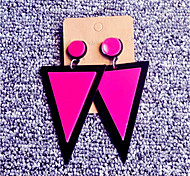 Women's Stud Earrings Drop Earrings Acrylic Hip-Hop Personalized China Triangle Shape Jewelry For Casual Club