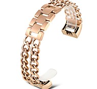 cheap -Bands for Fitbit Charge 2 Stainless Steel Replacement Metal Bracelet -rose gold