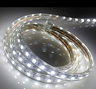 1M   Higt Bright LED Light Strip Flexible 5050 smd Three crystal Waterproof light bar garden lights With EU Power Plug