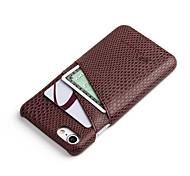 Недорогие -Назначение iPhone 7 iPhone 7 Plus Чехлы панели Бумажник для карт Задняя крышка Кейс для Сплошной цвет Твердый PC для Apple iPhone 7 Plus