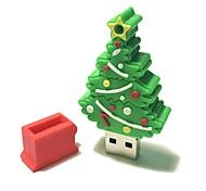 2gb рождество usb флеш-накопитель мультфильм творческая рождественская елка рождественский подарок usb 2.0