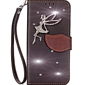 cheap -Case For Sony Sony Xperia X Performance Sony Xperia XA Sony Xperia X Xperia X Performance Xperia X compact Card Holder Wallet Rhinestone