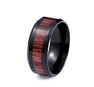 Муж. Классические кольца Мода По заказу покупателя Нержавеющая сталь Титановая сталь Бижутерия Бижутерия Назначение Повседневные