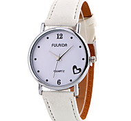 cheap -Women's Quartz Wrist Watch Casual Watch Leather Band Charm Casual Elegant Fashion Cool Black White Brown