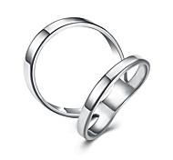 Недорогие -Жен. Бижутерия На заказ Мода Регулируется Симпатичные Стиль Титановая сталь Серебрянное покрытие Позолота Геометрической формы