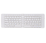 Bluetooth teclado escritório Slim Dobrável Teclas Chiclet Para Windows 2000/XP/Vista/7/Mac OS Android OS iOS IPad (2017) IPad Pro 12.9 ''