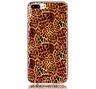For iPhone X iPhone 8 Case Cover Pattern Back Cover Case Leopard Print Soft TPU for Apple iPhone X iPhone 8 Plus iPhone 8 iPhone 7 Plus