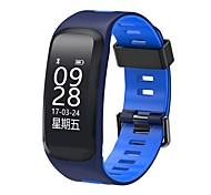Недорогие -Умный браслет Сенсорный экран Пульсомер Защита от влаги Израсходовано калорий Педометры Регистрация дистанции Измерение кровяного