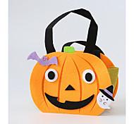 Призрак Монстры Тыква Сумки и кошельки Хэллоуин Фестиваль / праздник Костюмы на Хэллоуин Оранжевый Мода