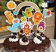 Bolos De Aniversário Aniversário Presente Decoração De Panificação De Sobremesa